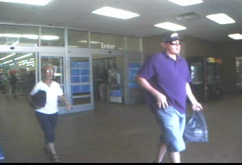 PHOTO: Photos of credit card fraud suspect who purchased an iPad with a stolen credit card from Wal-Mart (1619 Del Prado Blvd. S.) on February 18, 2014. (Photo Courtesy ofCape Coral Police Department)