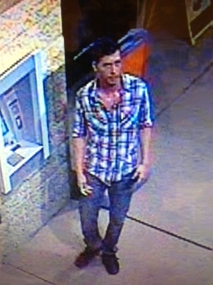 Cape Coral Police Department are looking for this man in connection with a felony criminal mischief.  He appeared to be 25-35 years old, 5`7- 5`10, medium build, about 155-170 pounds, short brown hair with slight facial hair.