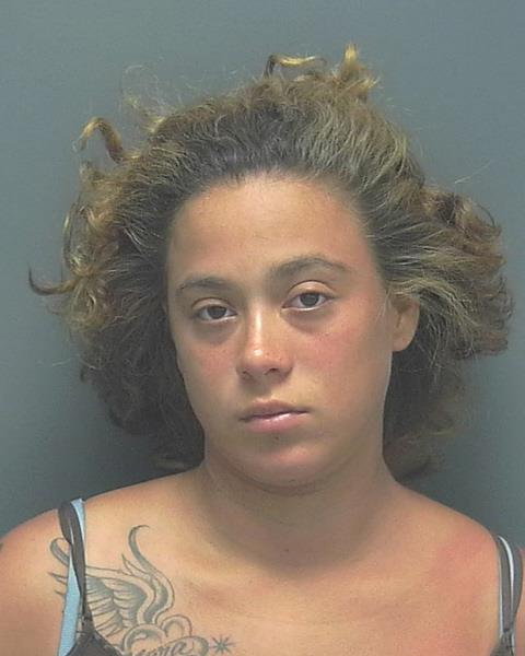 ARRESTED : Chrissie Simmons, W/F 12-03-1989, of1080 Hancock Creek Blvd., Cape Coral  CHARGES : Trafficking Heroin.