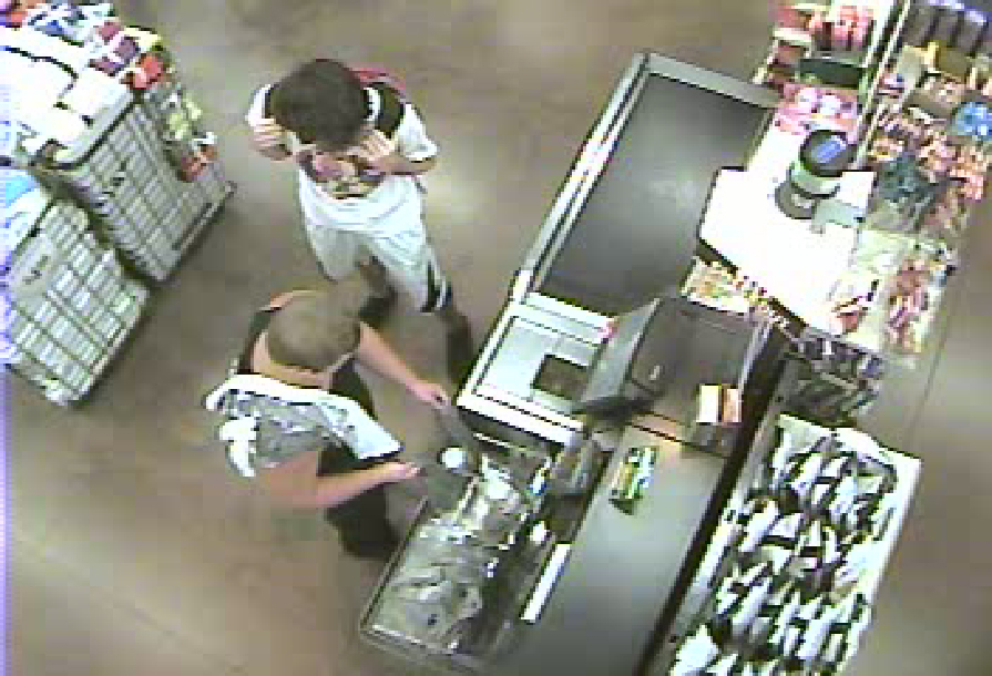 This case (CR# 14-013700) is involving a subject (black tank top) who used a credit card at Wal-Mart market on Skyline on 08/25/14 shortly after 2:00 PM hours for under $10.00 and then made a purchase online later that night. The suspect may live in the area of the Wal-Mart Neighborhood Market (3920 Skyline Blvd.)