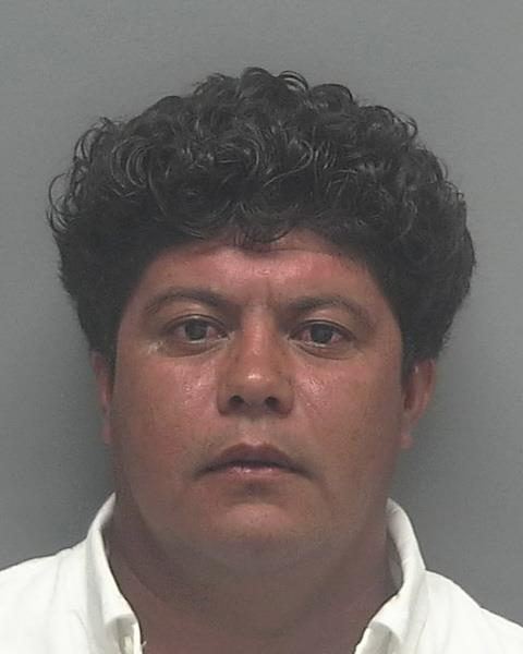 ARRESTED: Carlos Arellano-Ortiz (W/M 4-11-76) of 2722 Blue Cypress Lake Ct., Cape Coral, FL. CHARGES: DUI, No DL CR#: 15-013453