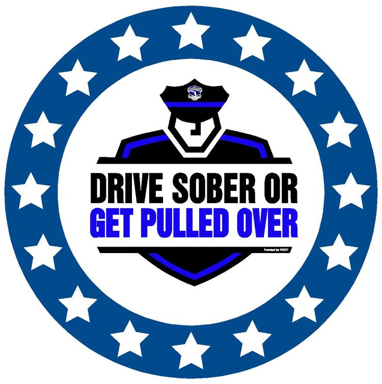 PHOTO: Drive Sober or get Pulled Over logo. (Photo Courtesy of FDOT)