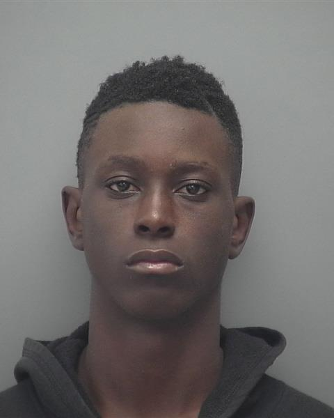 ARRESTED : Danarian A. Wheeler,B/M, DOB: 06-10-1999, of 3137 Guava Street, Ft. Myers, FL.  CHARGES : Robbery with Firearm, Motor Vehicle Theft, Fleeing to Elude, Resisting Without Violence, Operating a Motor Vehicle Without a DL, Hit and Run with Injuries.
