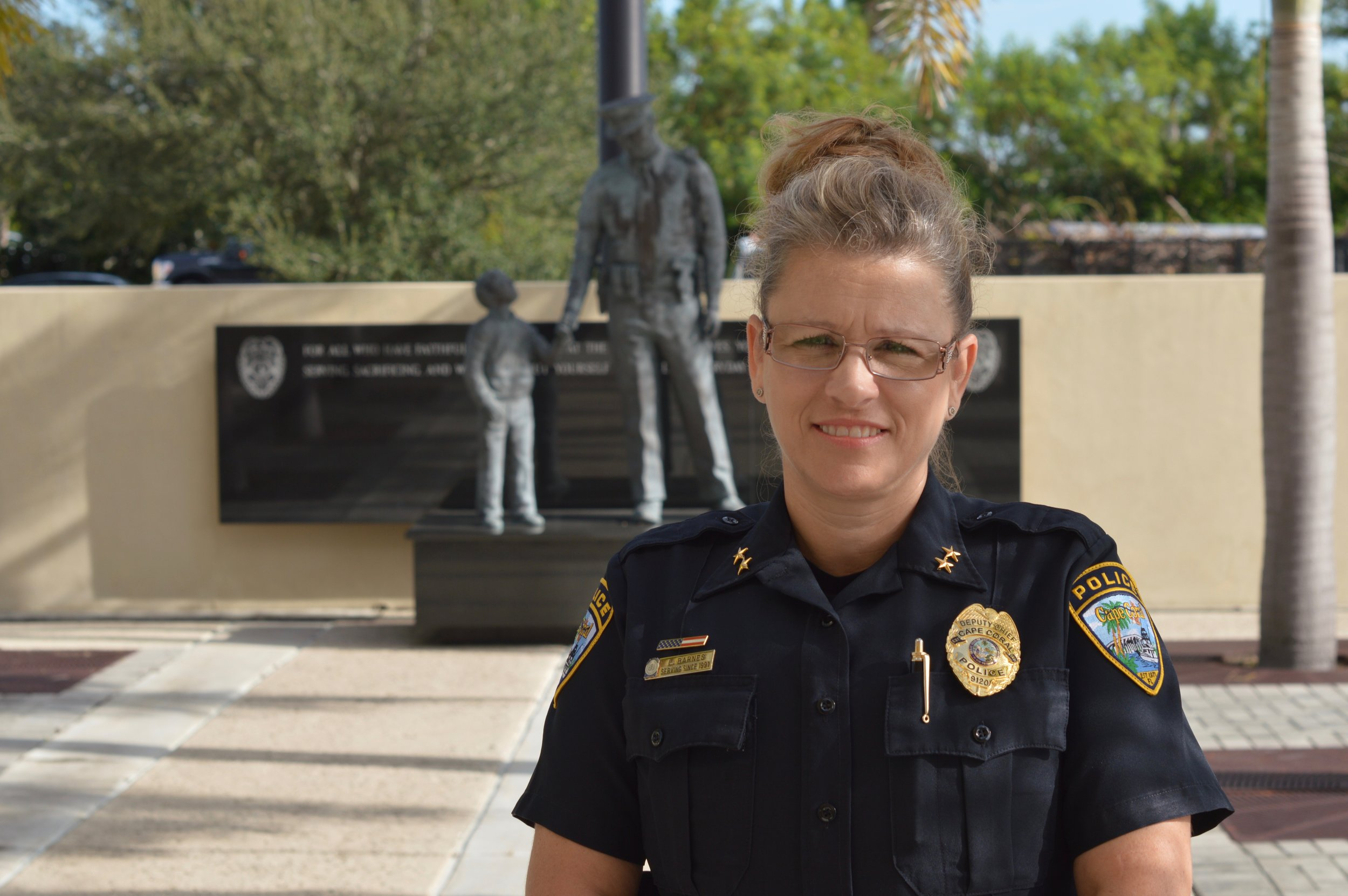 PHOTO: Deputy Chief Lisa Barnes. (Photo Courtesy of Cape Coral Police Department)