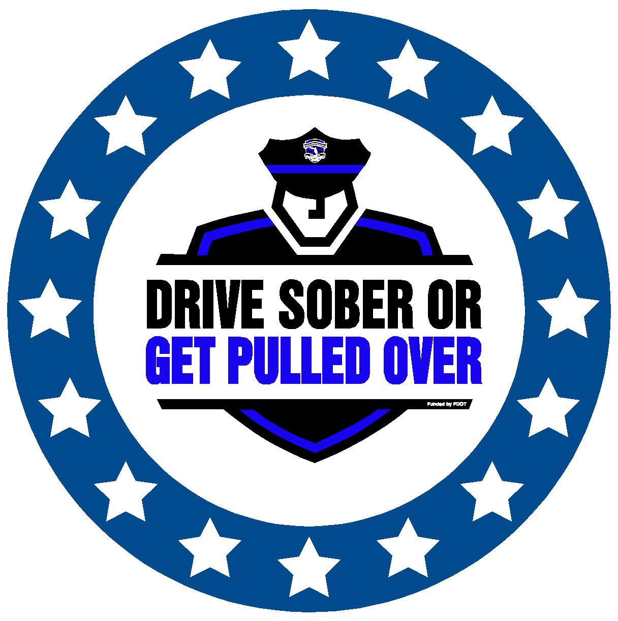 """PHOTO: """"Drive Sober or Get Pulled Over"""" logo. (Photo Courtesy of FDOT)"""