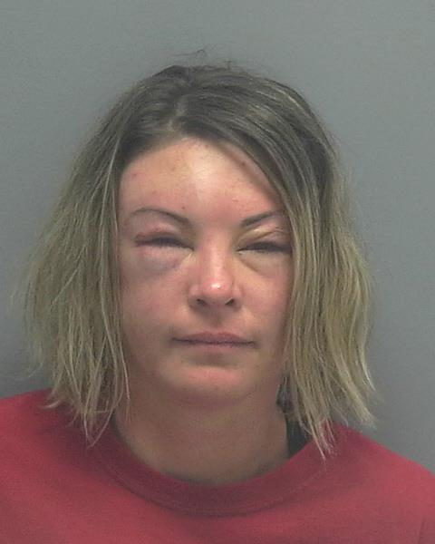 ARRESTED: Jessica C. Blick, W/F, DOB: 08/01/1981, 3518 SE 17th Ave - CHARGES: Aggravated Assault on a LEO, Battery on a LEO, and Resisting Arrest with Violence