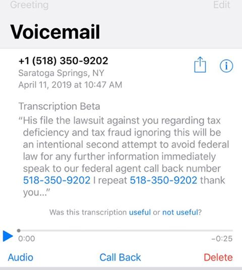 SCAM ALERT!!!! - IRS Scam — Cape Coral Police Department