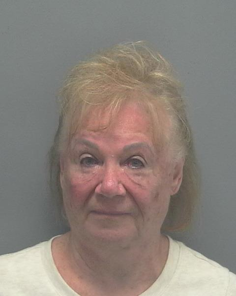 ARRESTED: Bettie Joe Emrah, W/F, DOB: 8-6-38, of 5704 SW 10th Avenue, Cape Coral FL. - CHARGES: Driving Under the Influence with BAC% Over .15%, DUI Property Damage