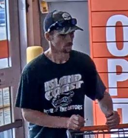 Suspect in Home Depot theft. (Credit: CCPD)