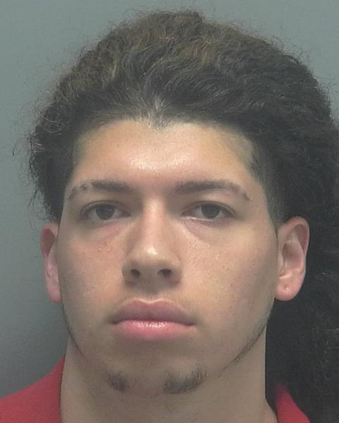 ARRESTED:  Brian Matthew Perez, W/M, DOB: 10-8-00, of 1761 Four Mile Cove Parkway #530, Cape Coral FL.  CHARGES:  Armed Robbery, Grand Theft Auto, Battery
