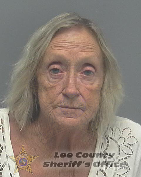 ARRESTED:  Nancy Beth Bodenmann, W/F, DOB: 4-14-55, of 140 NW 29th Place, Cape Coral FL.  CHARGES:  Driving Under the Influence  Officers located a reckless driver complaint. Contact with the driver (Bodenmann) discovered her holding an open bottle of whiskey. This led to a DUI investigation and Bodenmann's arrest.  BAC%: .146