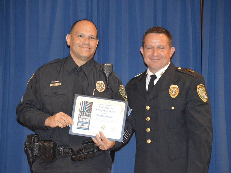 Officer Sandy Negron (Chief's Special Recognition Award)