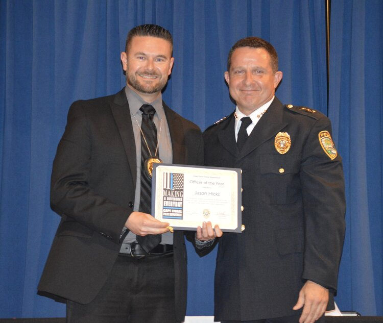 Detective Jason Hicks (2019 Officer of the Year)