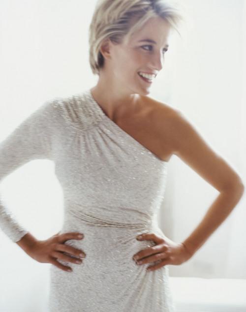 Princess Diana, photographed by Mario Testino