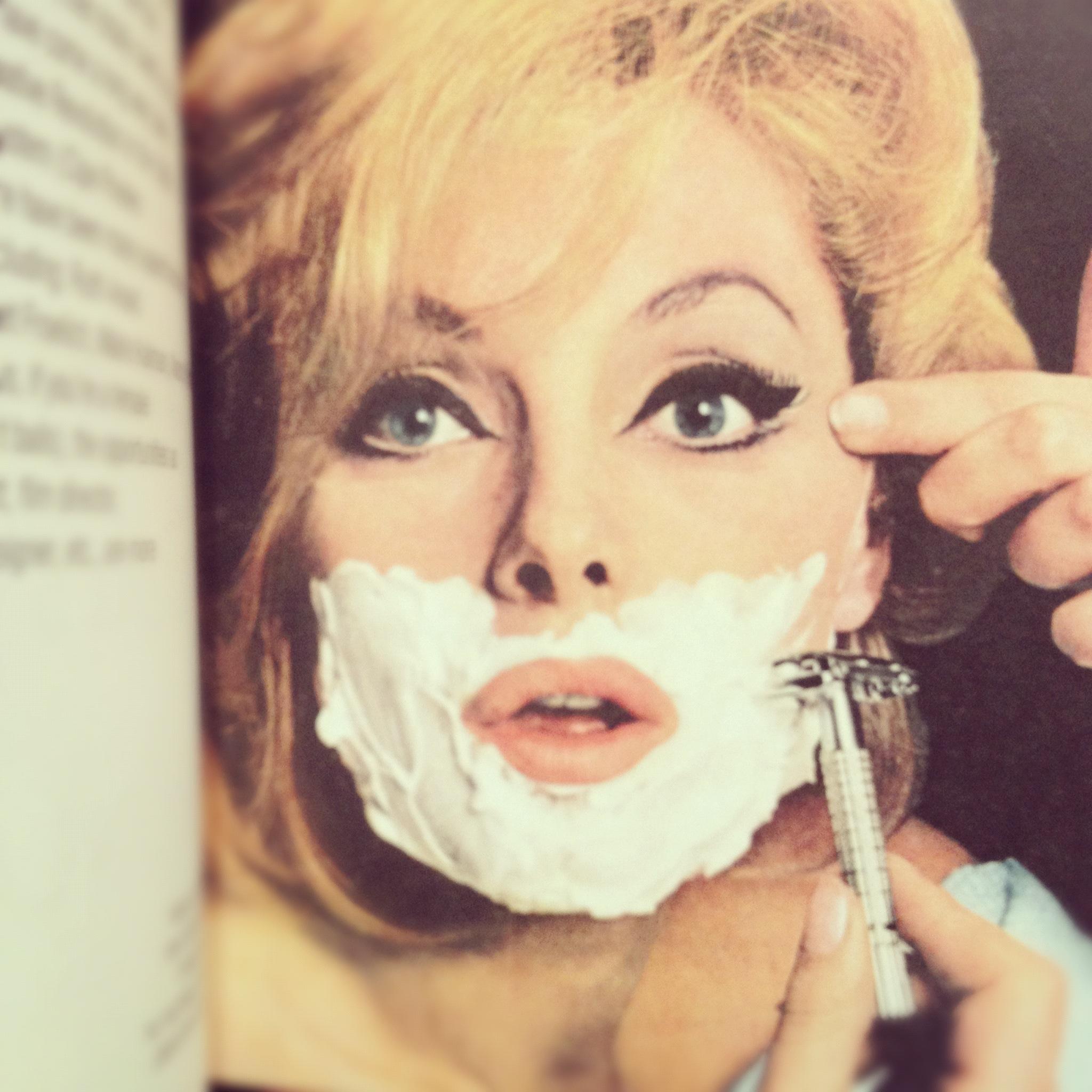 Woman Shaving.JPG