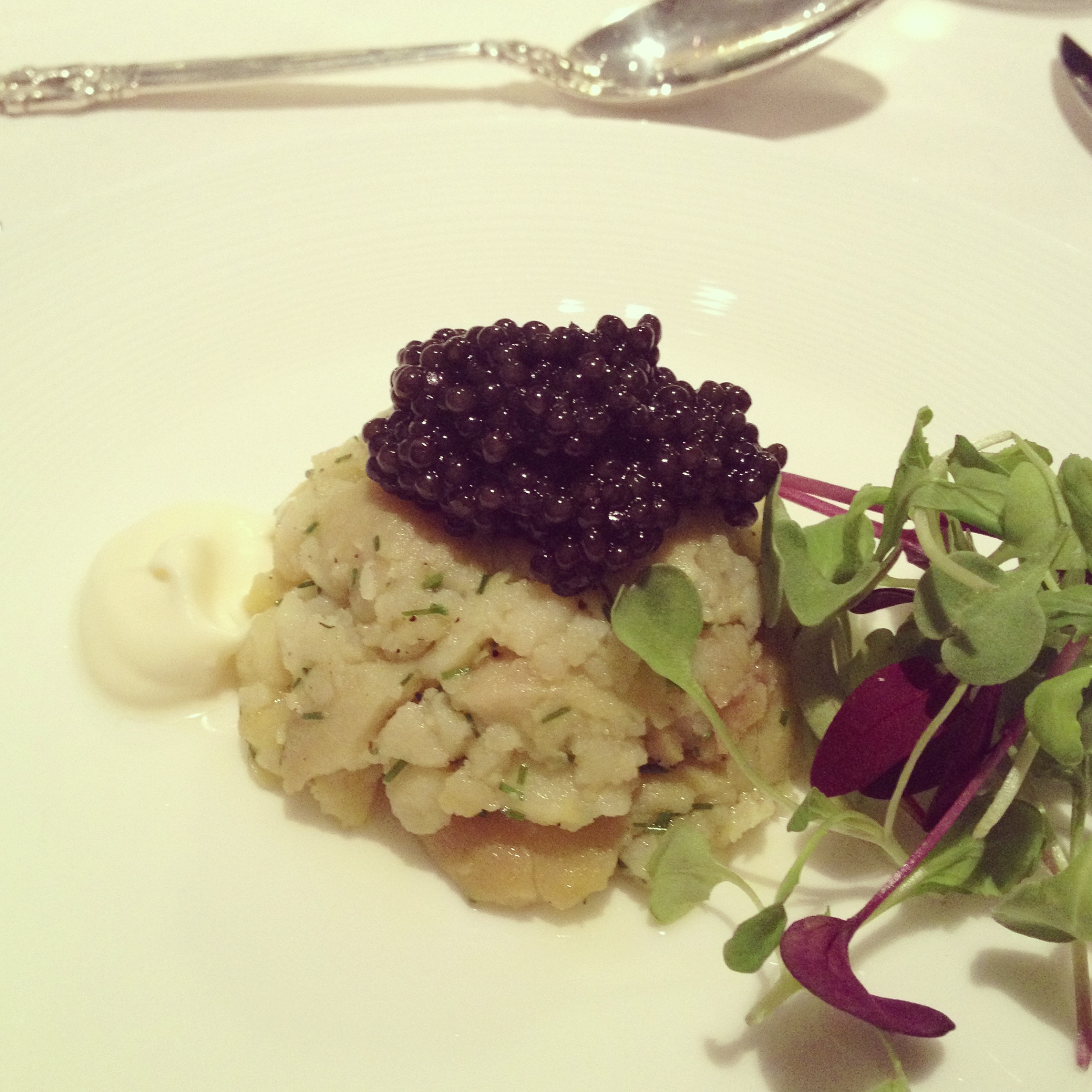 1st Course: Help-Yourself-To-Caviar