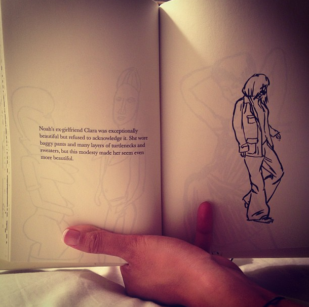 """A page from Leanne Shapton's book """"Was She Pretty?"""""""