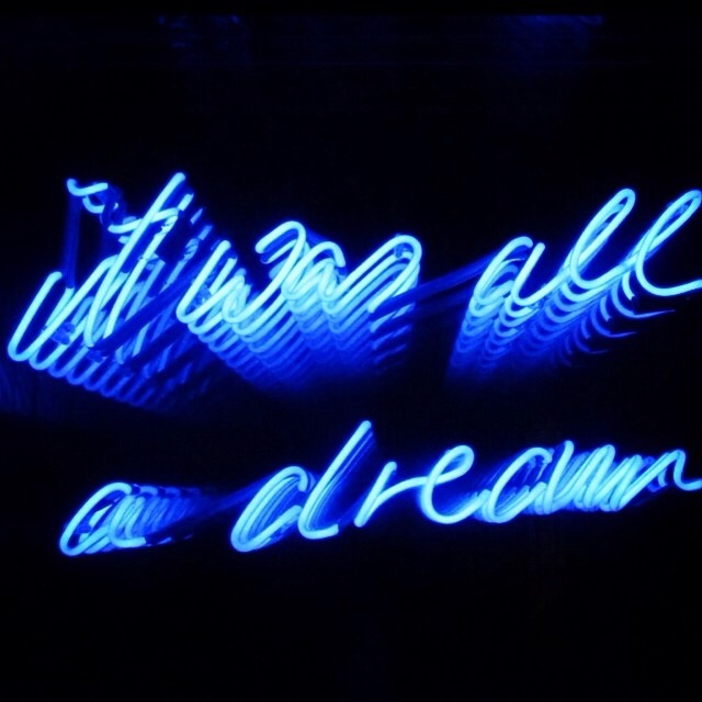 A work by Tracey Emin