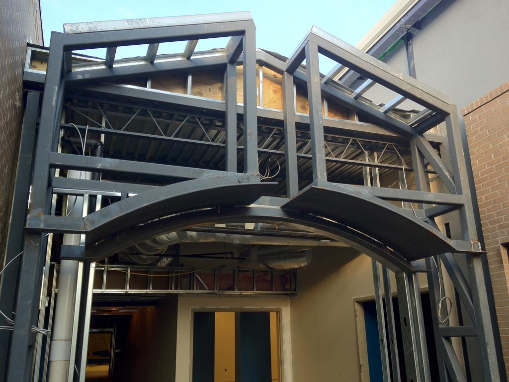 Entry Steel  | Student Center, Riverchase United Methodist Church