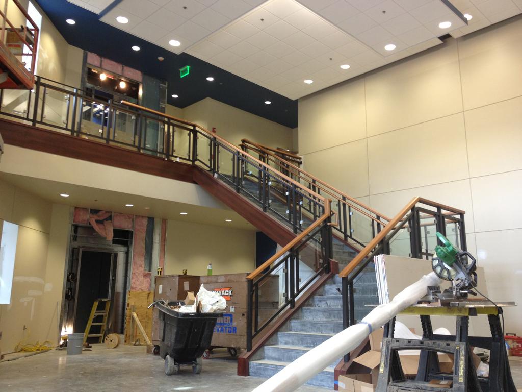 Grand Lobby Stair  | Riverchase United Methodist Church