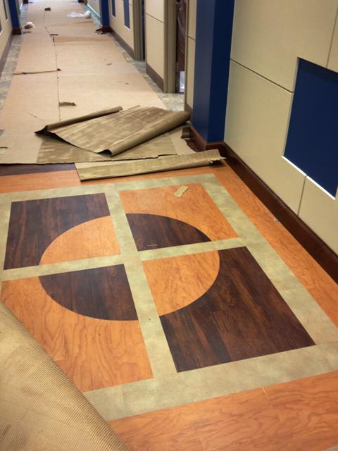 Accent Floor Pattern | Riverchase United Methodist Church