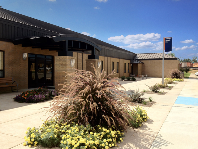 New Entrance  | Advanced Visualization Center / Academy of Cosmetic Arts, Wallace State Community College