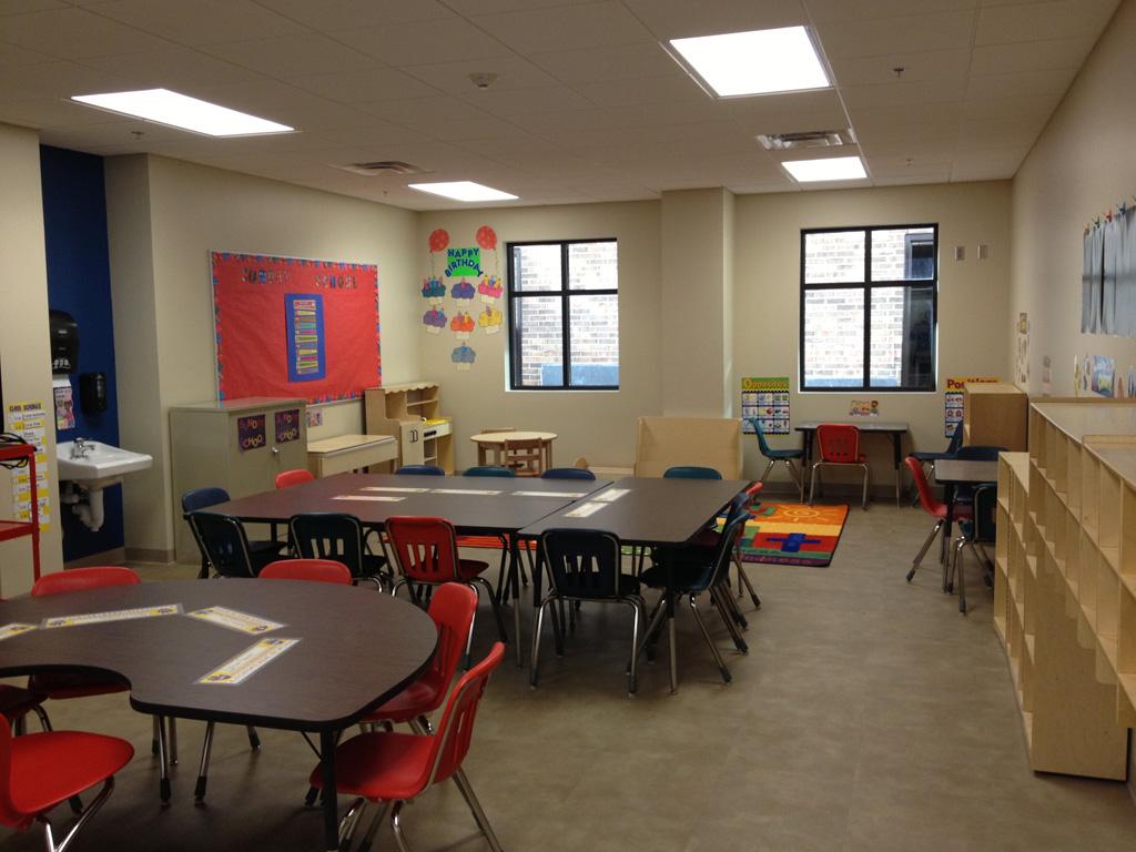 Dayschool and Sunday School Classroom