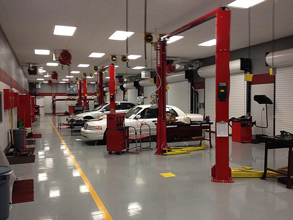 New Automotive Service Technology Bldg.