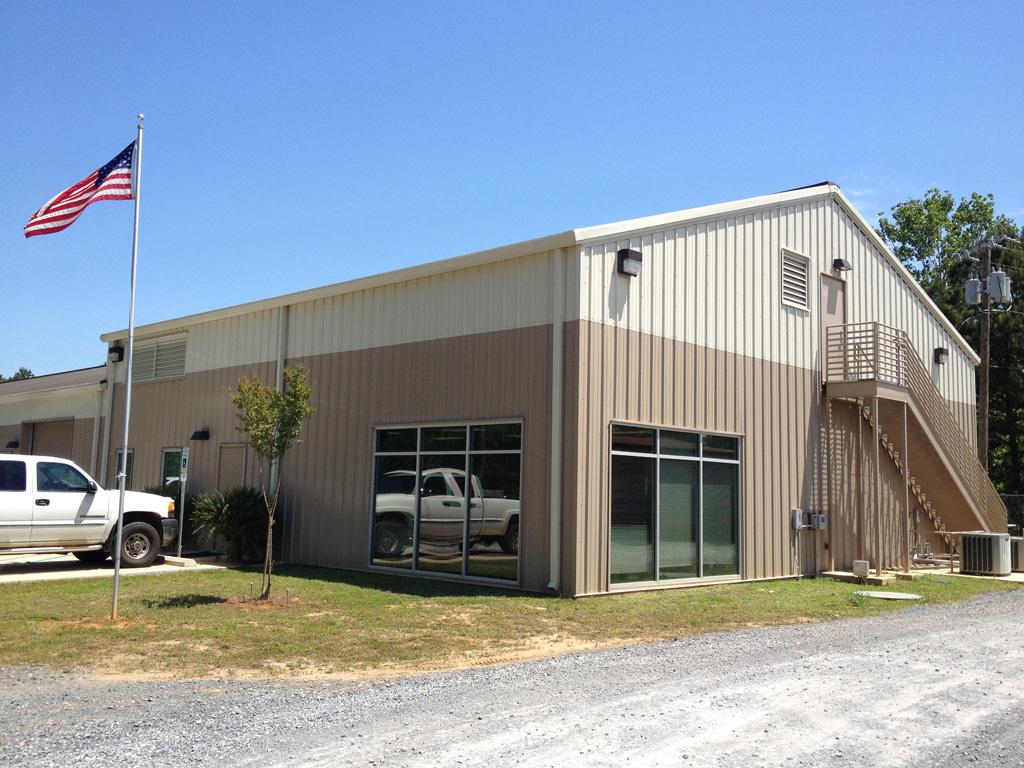New Maintenance Building