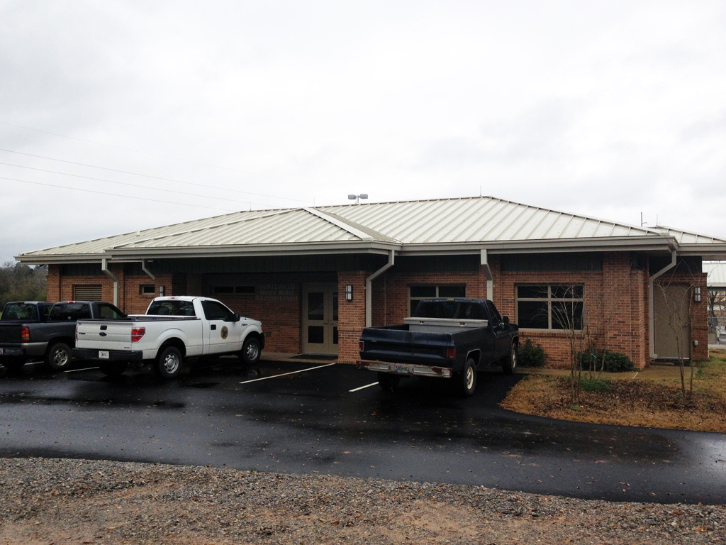 Administration & Lab Building  | Montevallo Waste Water Treatment Plant