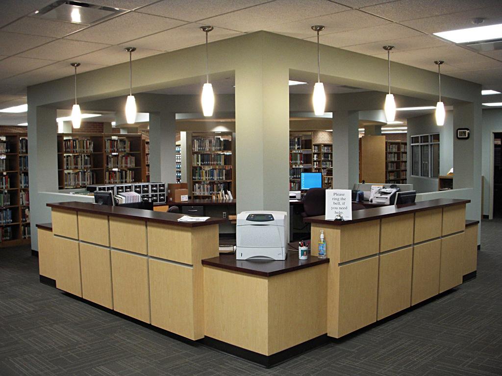 New Circulation Desk