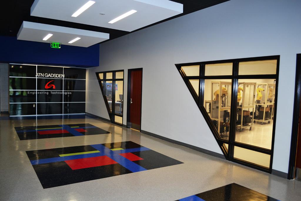 New Entrance Lobby
