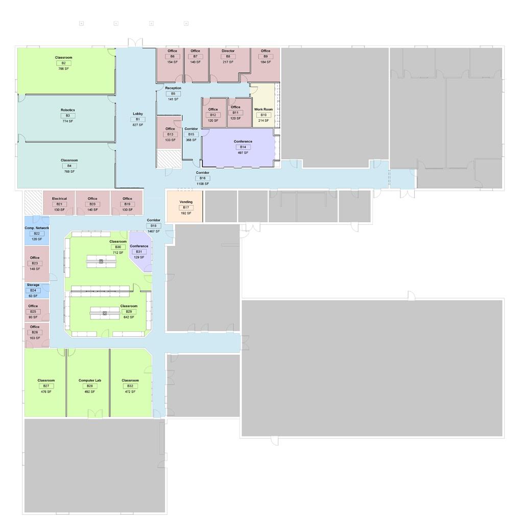 Floor Plan   Bevill Center Renovation  | Gadsden State Community College, Gadsden, AL