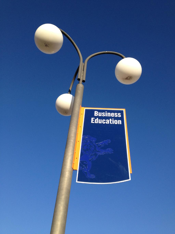 Pole Mounted Sign