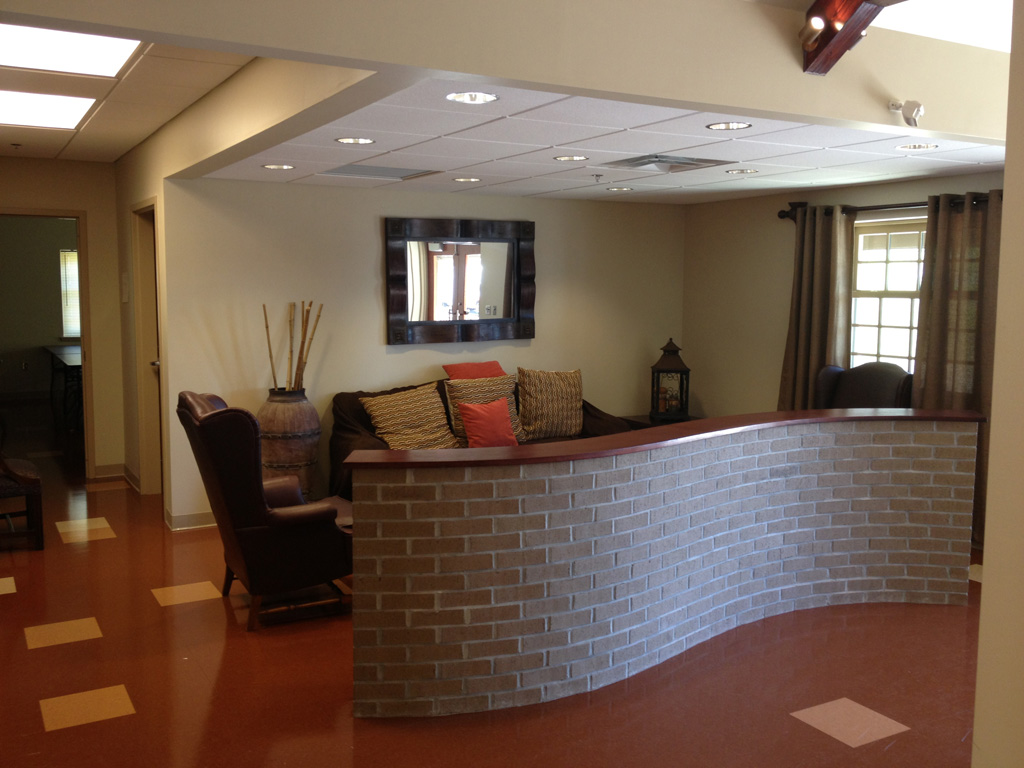 Waiting Area  |  New Missions Building, Riverchase United Methodist Church