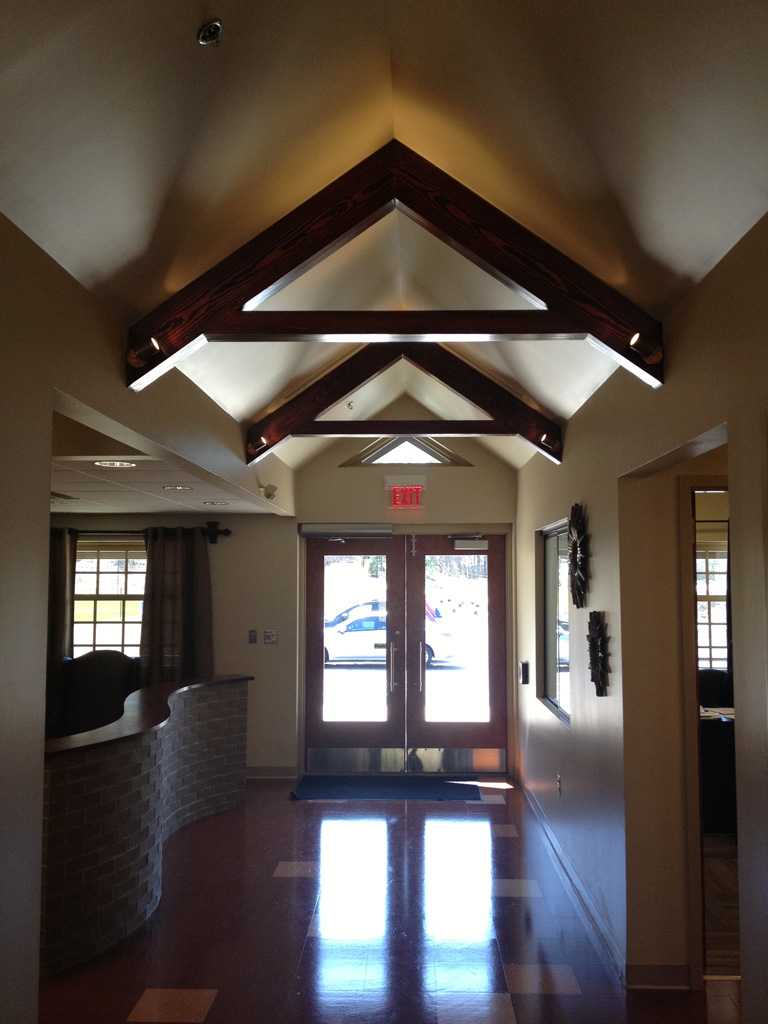 Feature Ceiling, Main Hall  |  New Missions Building, Riverchase United Methodist Church