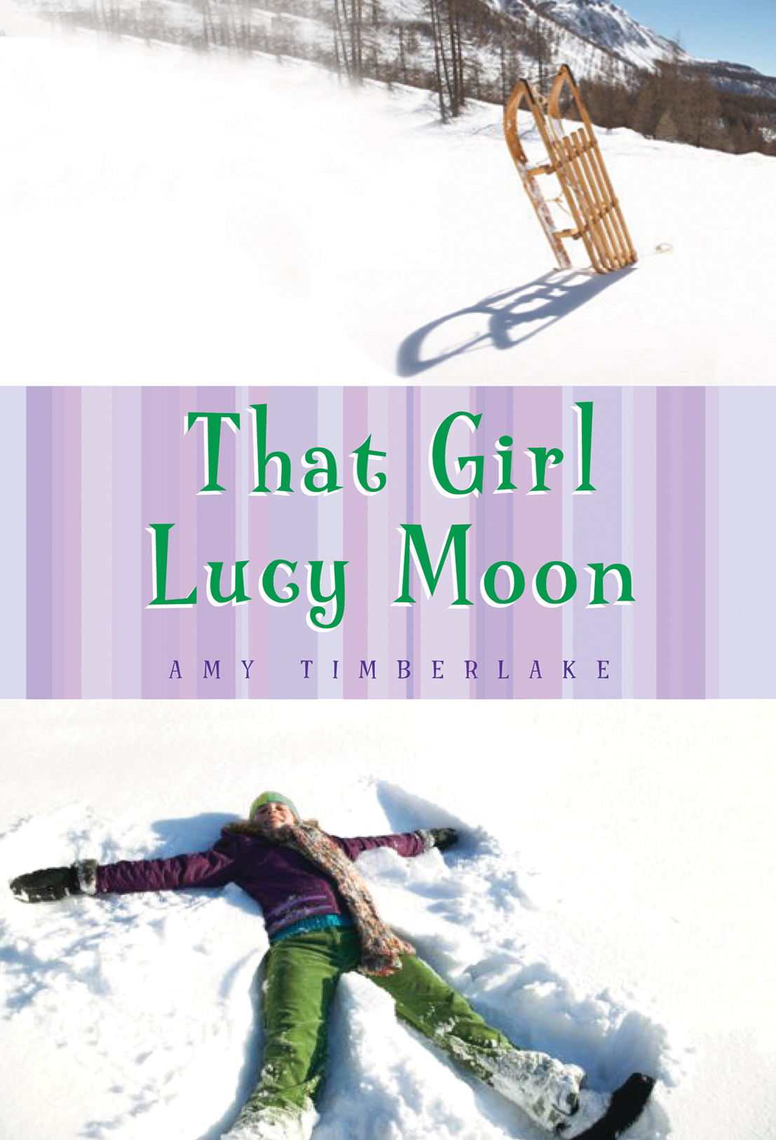 Can one person really make a difference? - Lucy Moon is the kind of girl who loudly supports animal rights -- during hunting season. She wears a woven hat made of hemp in support of third world workers. Lucy Moon is the kind of girl who spots injustice and isn't afraid to fight it. So when classmates land a trip to the police station for sledding on Wiggins Hill and the local paper refuses to report it -- or the role Miss Ilene Viola Wiggins, the richest woman in town, plays in the arrest -- Lucy launches a campaign to fight against corruption in her hometown -- and for sledding rights on Wiggins Hill.