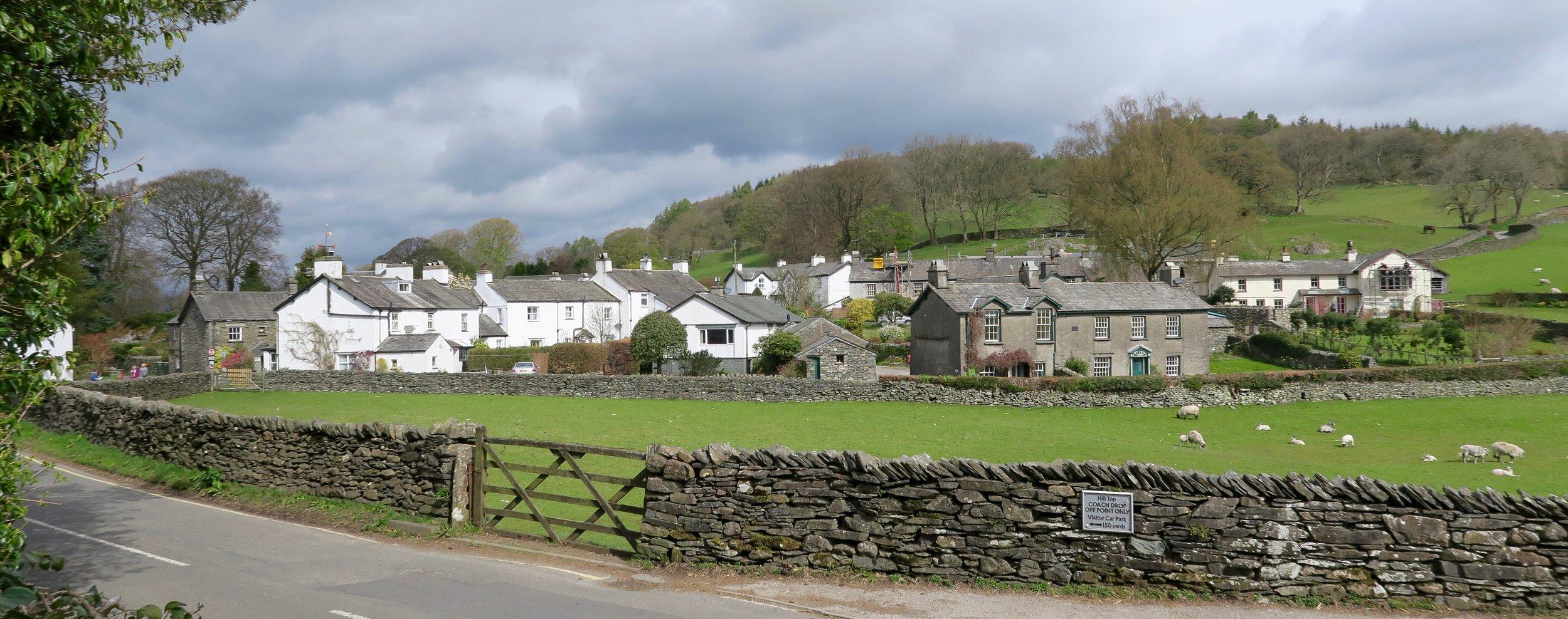 Beatrix Potter's village (Sawrey, England)