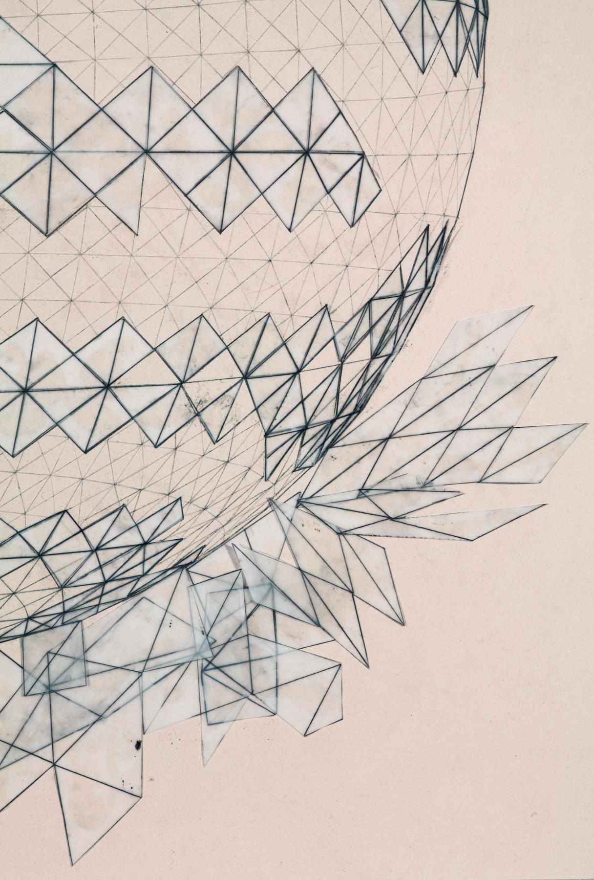 Broken Geodesic #2 (detail)
