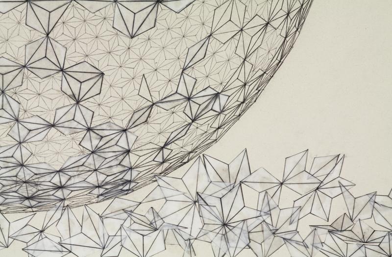 Broken Geodesic (detail)
