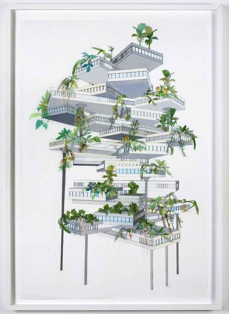 Vertical Garden (Tropical)