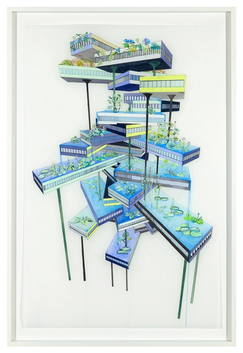 Vertical Garden (Falling Water)