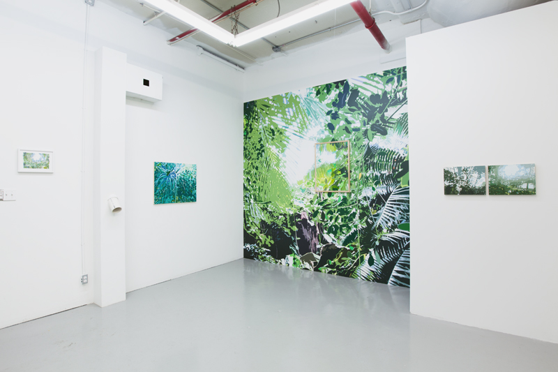 "Installation view, ""Unnatural Selection"" at  TSA NY , Brooklyn, NY.  Photograph by  Jason Mandella"