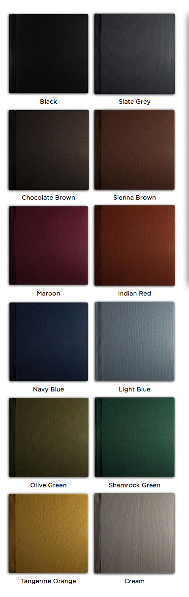 Linen cover colors