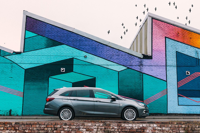 Vauxhall Astra - Liverpool Art