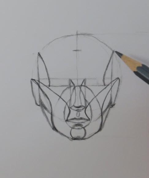 Portrait Prep Series: Lesson 3, Planes and Head Construction