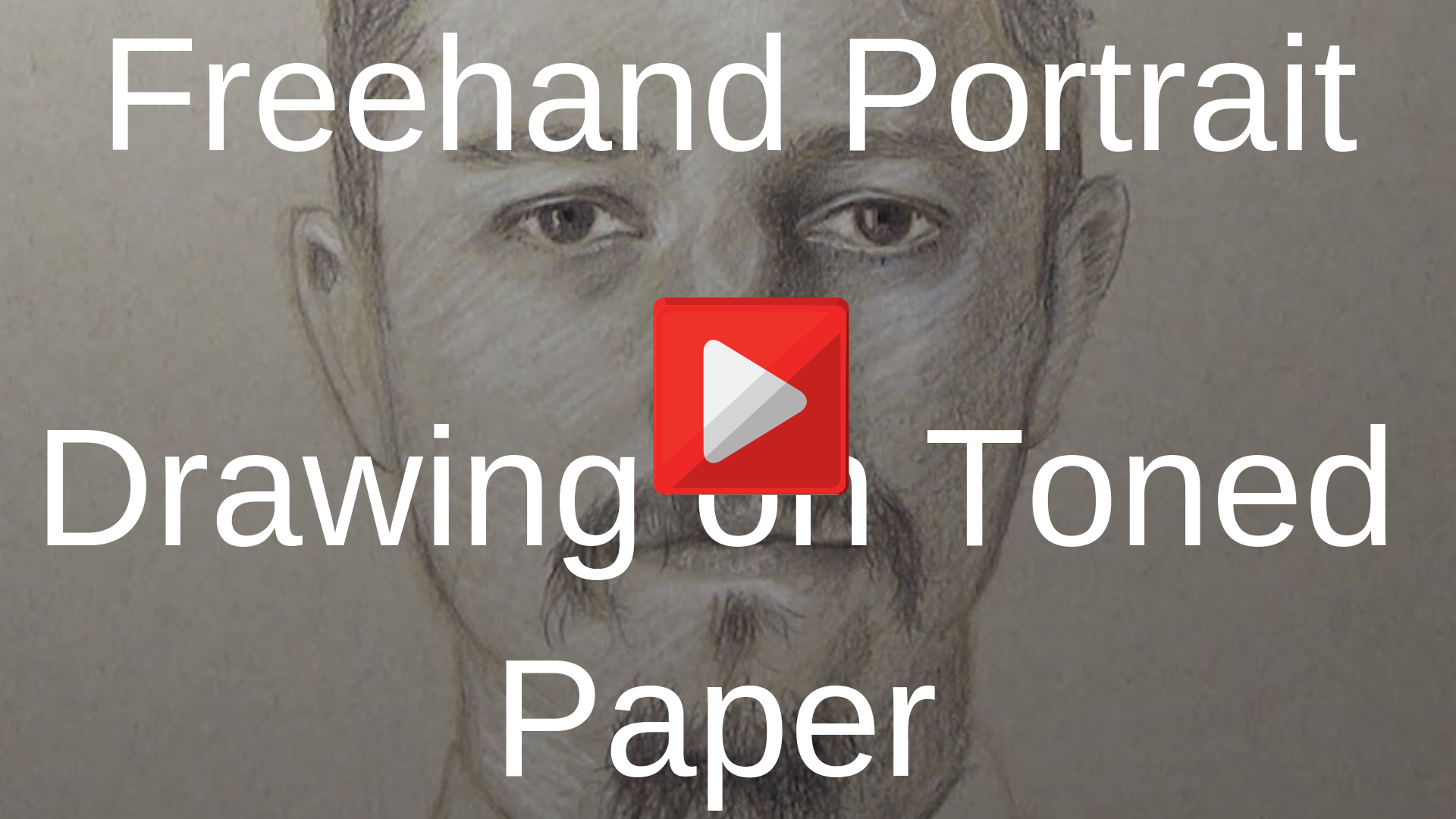 freehand drawing portrait video