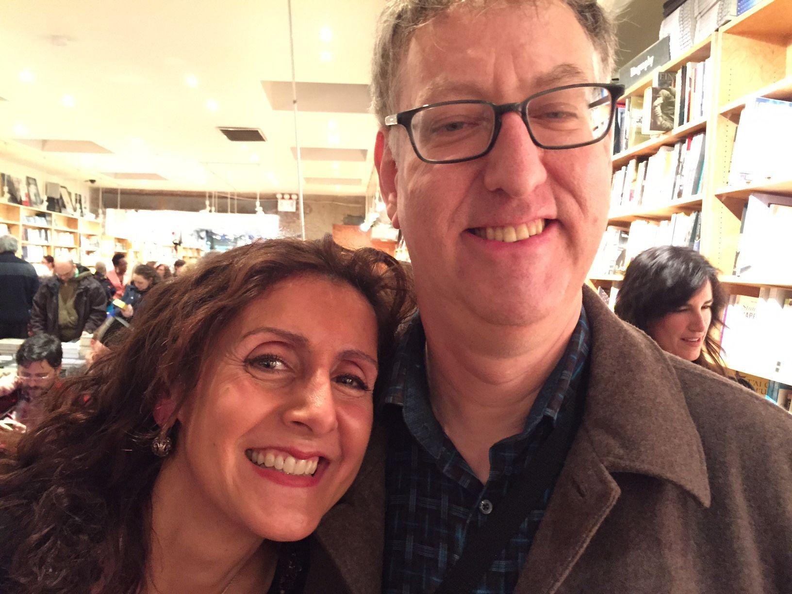 Alexandra Rosas and Neil Kramer (aka Neilochka)
