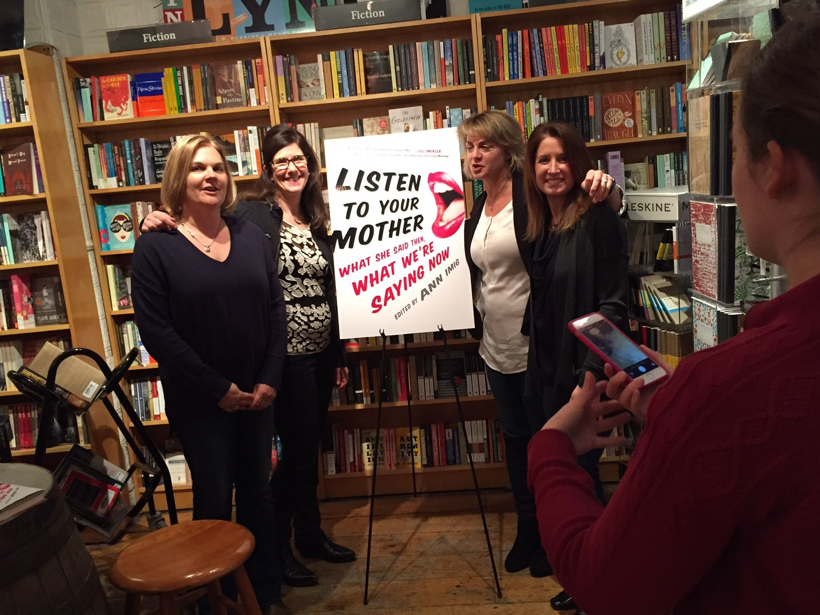 l to r  Helen Brickfield,  Kathy Kate Mayer, Barb Patrick and Tara Kortze