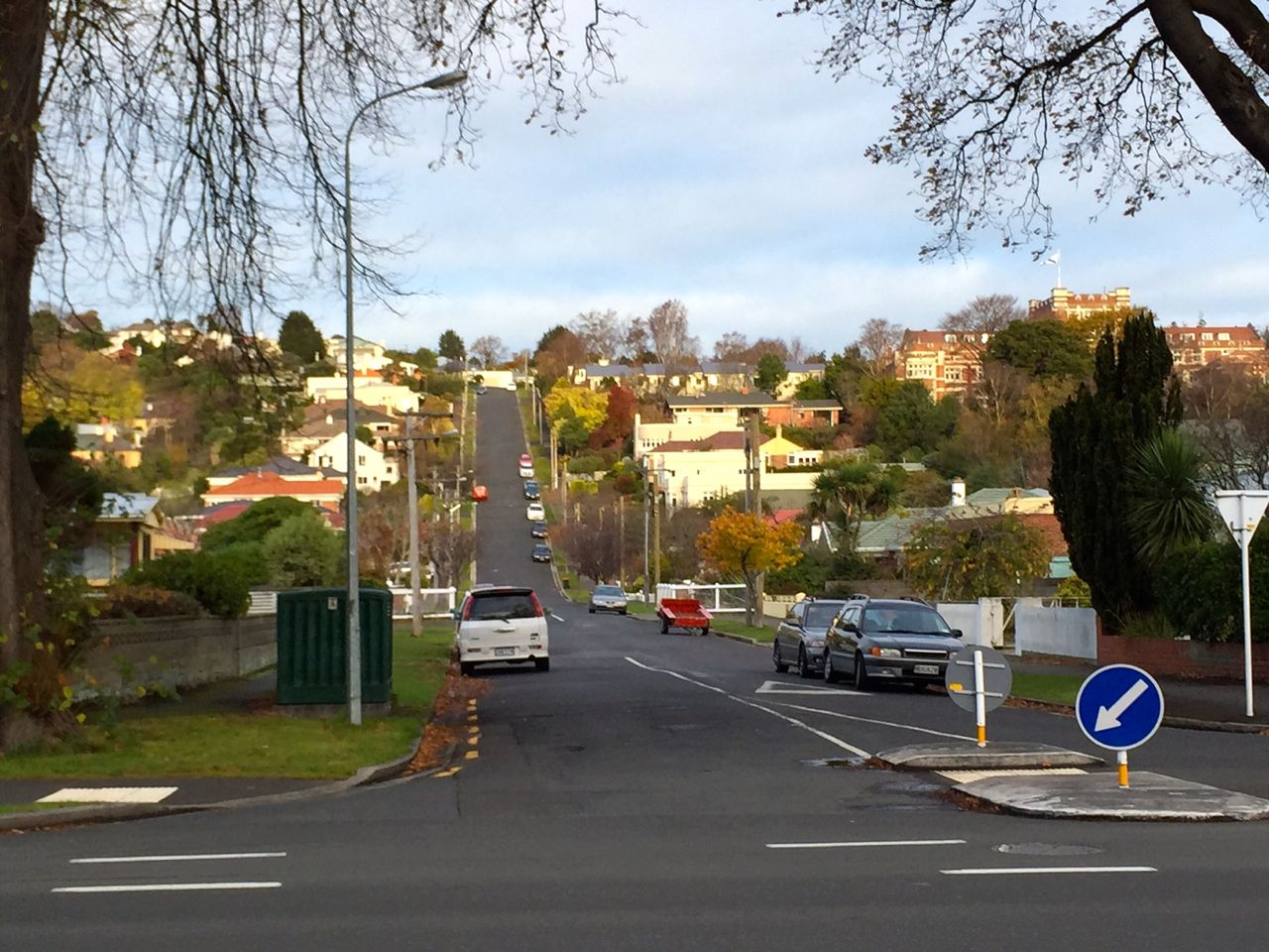 This is just down (or up) North Road from the 'steepest street in the world'. It looks very much like this one, promise.